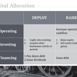 Capital Allocation by LEV