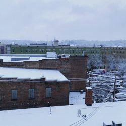 a snowy day in Lafayette